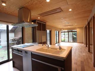 Dapur Modern Oleh スタジオ4設計 Modern