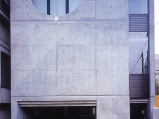 水盤のある家 モダンな 家 の スタジオ4設計 モダン