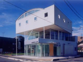 Kantor & Toko Modern Oleh スタジオ4設計 Modern