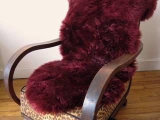 Peaux lainées pour la décoration et le confort de vie par WUBBY Éclectique