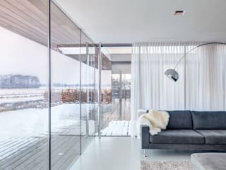 Modern living room by reitsema & partners architecten bna Modern