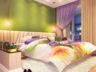 Bedroom by Your royal design, Eclectic