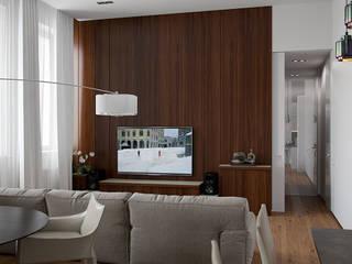 Архитектурное бюро Андрея Стубе Livings de estilo moderno
