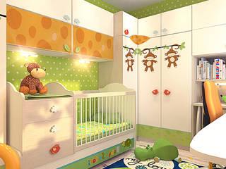 Phòng trẻ em phong cách chiết trung bởi Your royal design Chiết trung