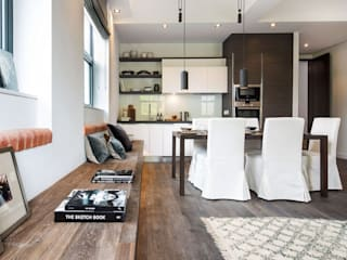 Housing Development, Clapham Modern kitchen by Simply Italian Modern