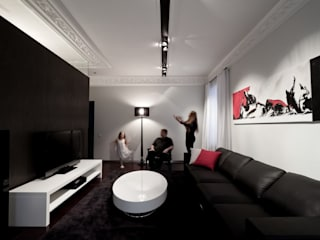 Minimalist living room by Archibrook Minimalist