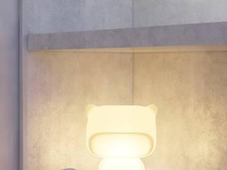 Minimalistische Schlafzimmer von FEDOROVICH Interior Minimalistisch