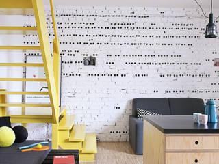 Industriale Wohnzimmer von PB/STUDIO Industrial
