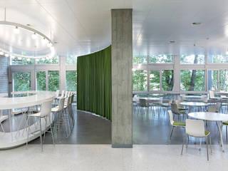 Pädagogische Hochschule FHNW, Solothurn Minimalistische Gastronomie von ern+ heinzl Architekten Minimalistisch