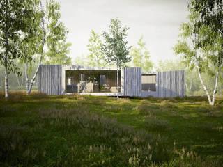 Summer residence, British Columbia, CDN von ern+ heinzl Architekten Ausgefallen