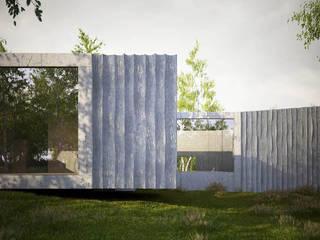 Summer residence, British Columbia, CDN von ern+ heinzl Architekten Modern