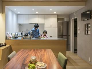 ステージのある家 すくすくリノベーション vol.4 オリジナルデザインの キッチン の 株式会社エキップ オリジナル