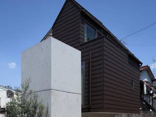 Casas de estilo moderno de 長浜信幸建築設計事務所 Moderno
