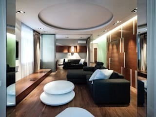 Modern living room by Archibrook Modern