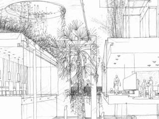 villa N Case moderne di ARCHITETTURA MATASSONI Moderno