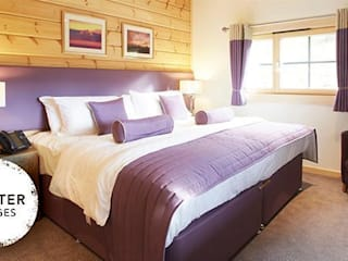 Hunter Lodges at Celtic Manor Resort Modern style bedroom by Lodgico Ltd Modern