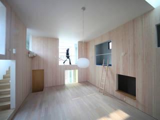 JMA(Jiro Matsuura Architecture office) Soggiorno moderno