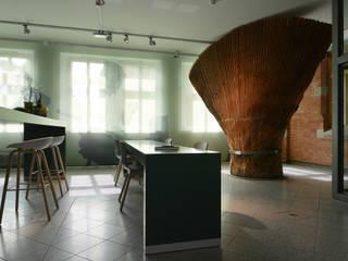 Baumfächer als Großzeichen:  Museen von TIDO BRUSSIG SZENERIEN