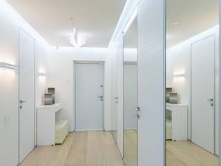 ANNA SHEMURATOVA \ interior design Corredores, halls e escadas minimalistas