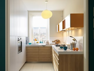 NEW! 2015 Kitchen: PORTLAND + ARCOS 根據 Schmidt Palmers Green 北歐風