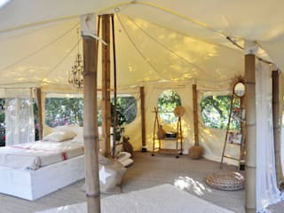La petite tente bambou : 20m2 de bonheur au coeur de votre jardin ! Marie de Saint Victor Palais des congrès originaux