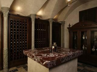 Загородная жизнь (дом 2000 кв.м.): Винные погребы в . Автор – Дизайн интерьера Проценко Андрея