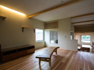 円山西町 木箱 オリジナルデザインの リビング の 有限会社 伊達計画所 オリジナル