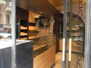 manzoni_gastronomia: Gastronomia in stile  di project2.0 studio di architettura
