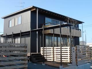 Maisons de style  par 縣美樹設計事務所, Moderne