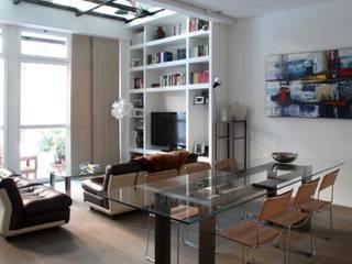 T+T ARCHITETTURA Salas de estar modernas