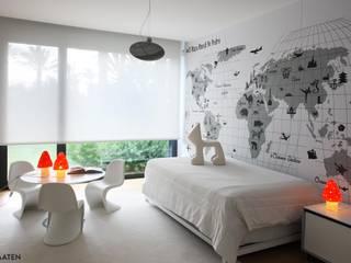 Estor enrollable infantil / juvenil - Kaaten Dormitorios de estilo minimalista de Kaaten Minimalista