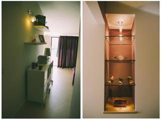 una mansarda per un single: Casa in stile  di Studio di Progettazione Arch. Tiziana Franchina