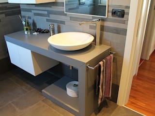SILVIA ZACCARO ARCHITETTO BathroomSinks