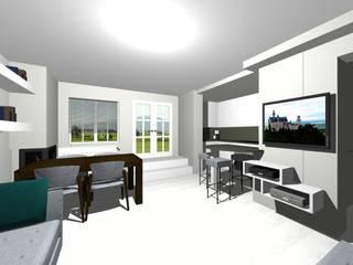 من studio design d'interni Frigerio Lisa حداثي
