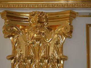 золотая классика: Гостиная в . Автор – Абрикос