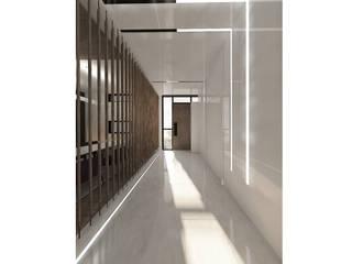 SE Konutu Modern Koridor, Hol & Merdivenler VEN MİMARLIK Modern