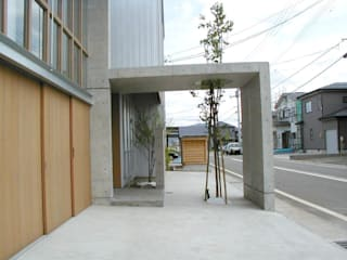 Eclectic style houses by たわら空間設計㈲ Eclectic