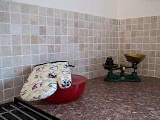 KITCHEN TILES DT Stone Ltd Cuisine rurale