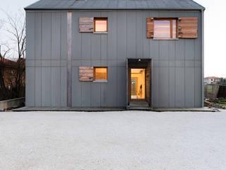 Minimalistyczne domy od paolo carlesso architetto Minimalistyczny