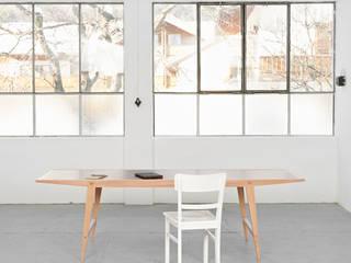 Der Hirsch mit Leder Holzgeschichten ArbeitszimmerSchreibtische