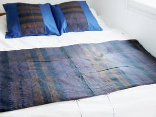 Jeté de lit Indigo:  de style  par TISS'AME