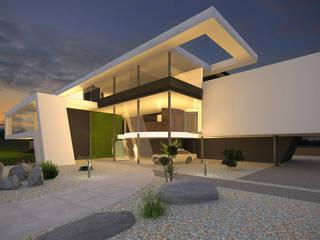 Praxisgebäude in moderner Architektur Rustikale Praxen von FLOW Rustikal