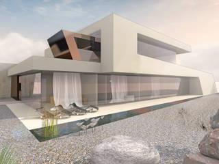 Designstudie Architektenvilla von FLOW