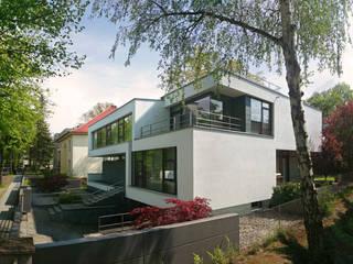 Modernes Designhaus: moderne Häuser von FLOW.Architektur