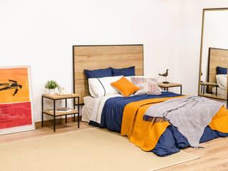 Dormitorios Cube Deco:  de estilo industrial de Cube Deco, Industrial