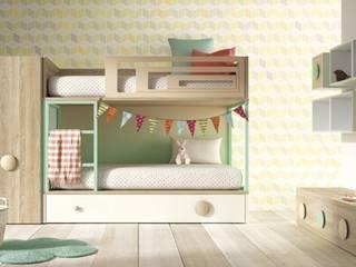 Litera Amberes: Habitaciones infantiles de estilo  de Yupih