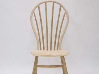 Bamboo Windsor Chair:   door Bo Reudler Studio