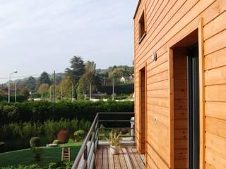 Maison C Balcon, Veranda & Terrasse modernes par SARA Architecture Moderne