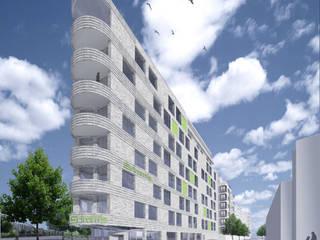 Flottwellpromenade Moderne Hotels von Faber+Faber Architekten Modern