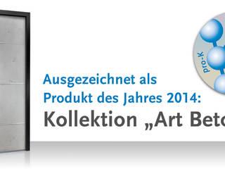 Art-Beton Füllungs-Kollektion:   von RODENBERG Türsysteme AG